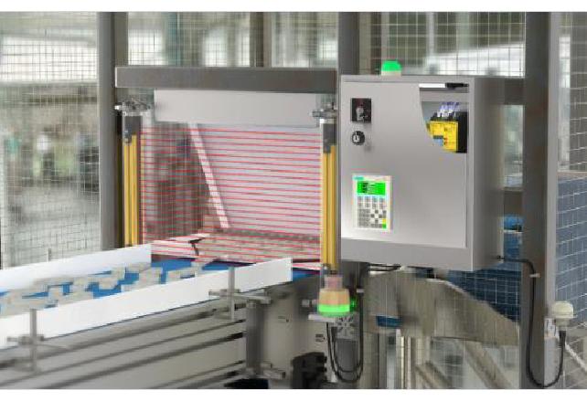 Protección del personal en la máquina para cortar carne en un entorno hostil